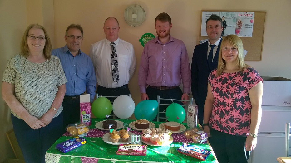 St Helens solicitors MacMillan Coffee Morning